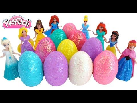 Disney Princess Elsa Anna Rapunzel Ariel and Jasmine Cosplay Challenge Dress Up Game - YouTube
