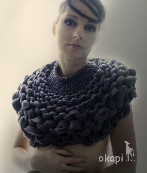 Truly French elegance: knitted jewelry with the spirit of Paris