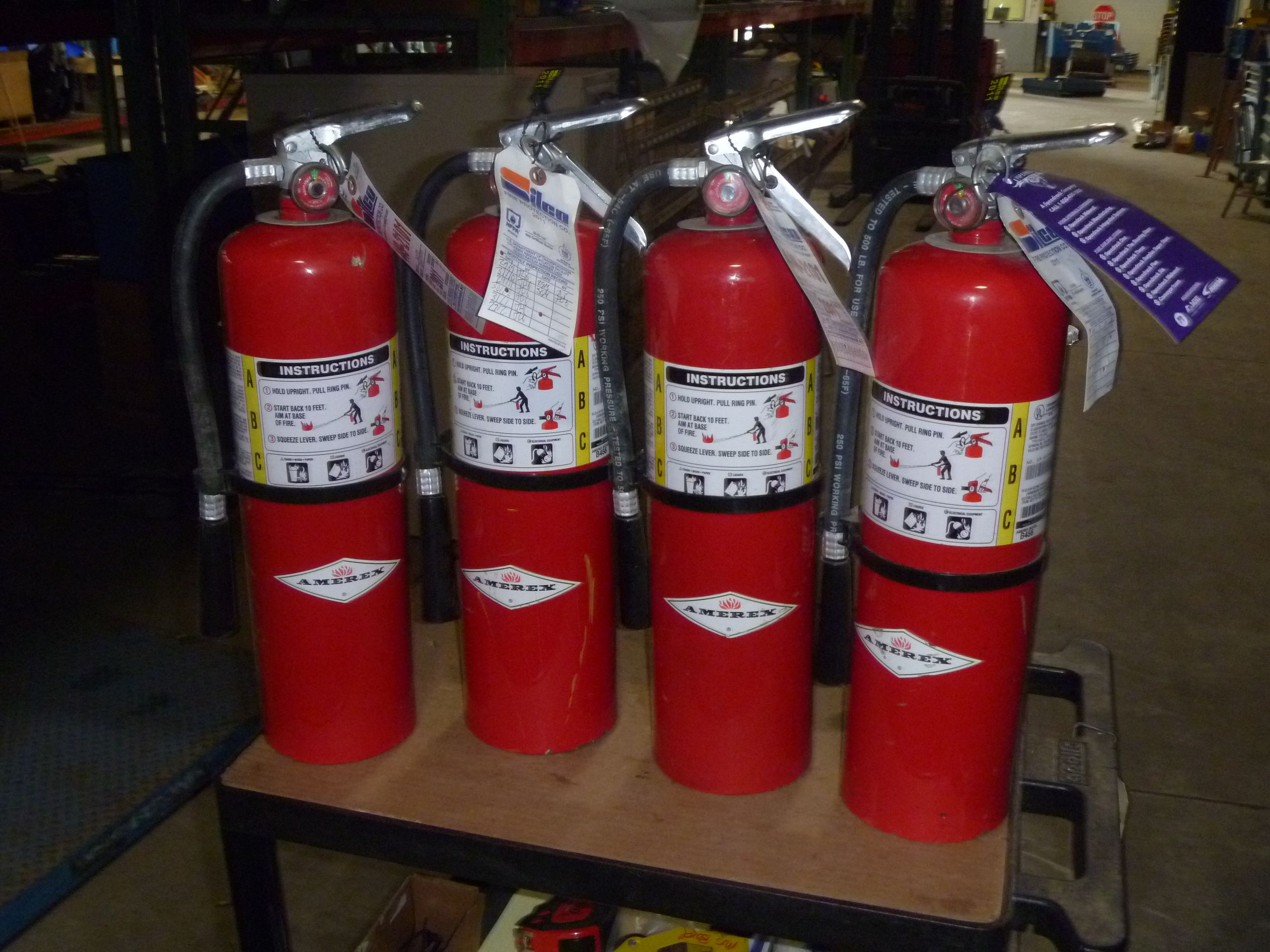 10lb Amerex Abc Fire Extinguishers Model B456 Up For Auction Online Through Viperbid Michigan Fire Extinguishers Extinguisher Fire Extinguisher