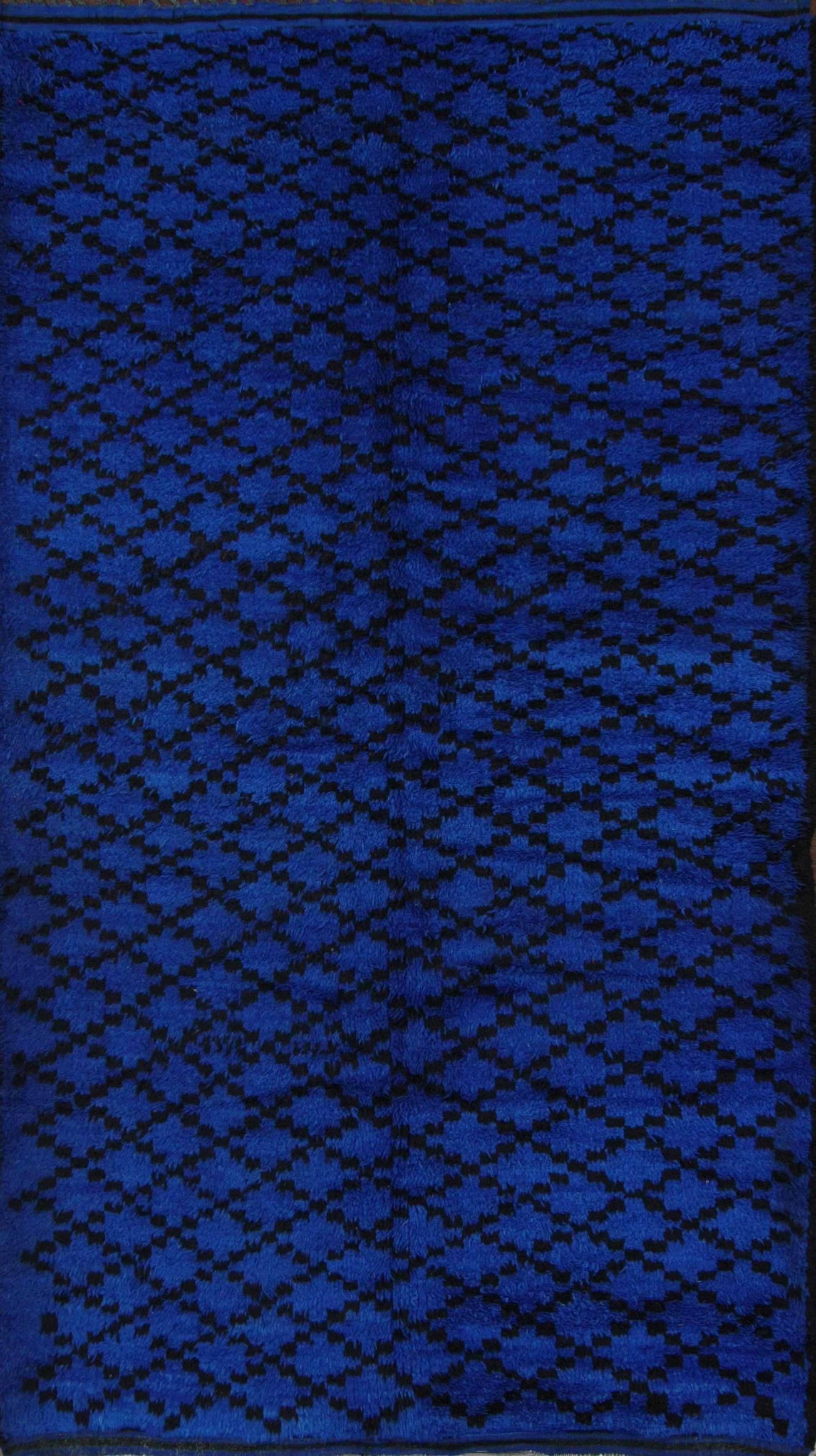 Nuloom Rugs Cobalt Blue Overdyed Rug