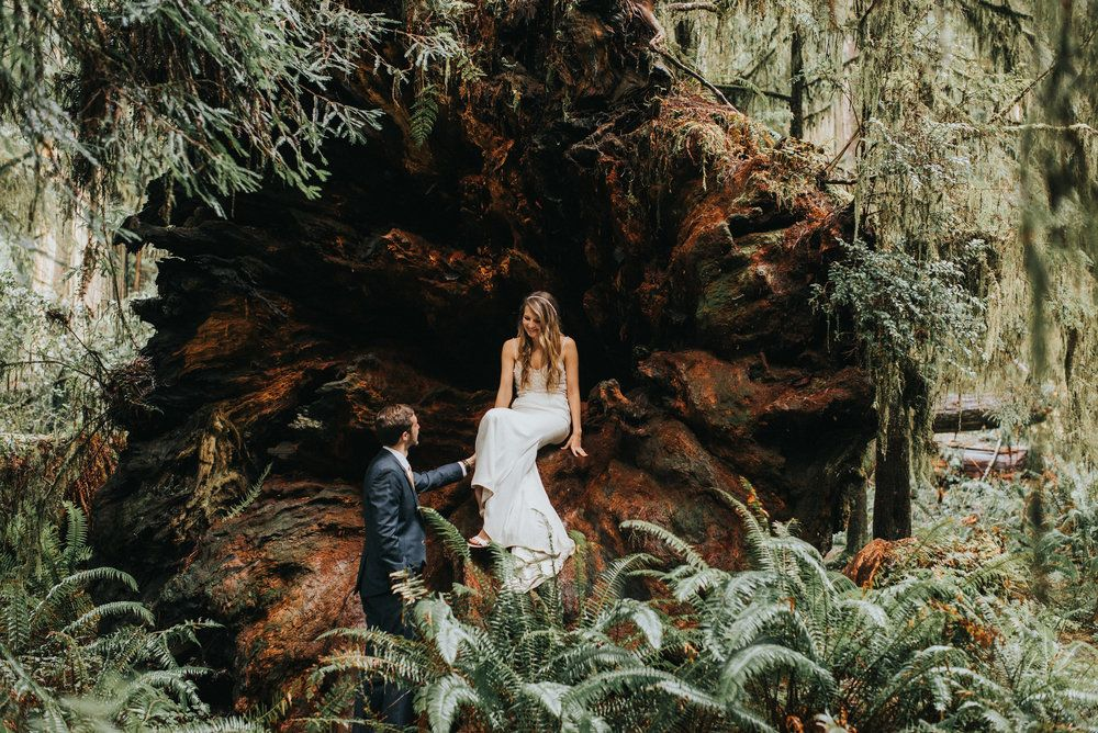 Beautiful bridal elopement style portraits of this texan