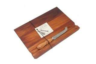 """Lovely feedback from a customer who chose to purchase The Big Chop online over any boards she could find in London!  """"My Cheese Board set arrived today, and I am one pleased customer! It is a beauEful board. I really appreciate the effort you and your team went to, to get it to me. Thank you very much!"""""""