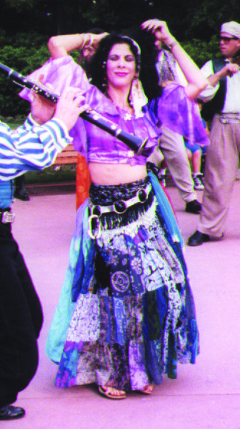 Natasha, The Psychic Lady when I was the dancer for the Eastern Gypsy Band, Tzighantzi, at EPCOT