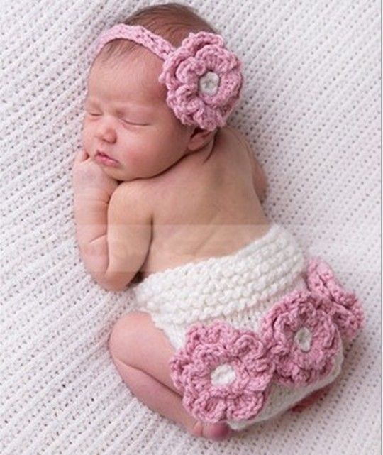 2014 handmade newborn baby infant knit crochet clothes