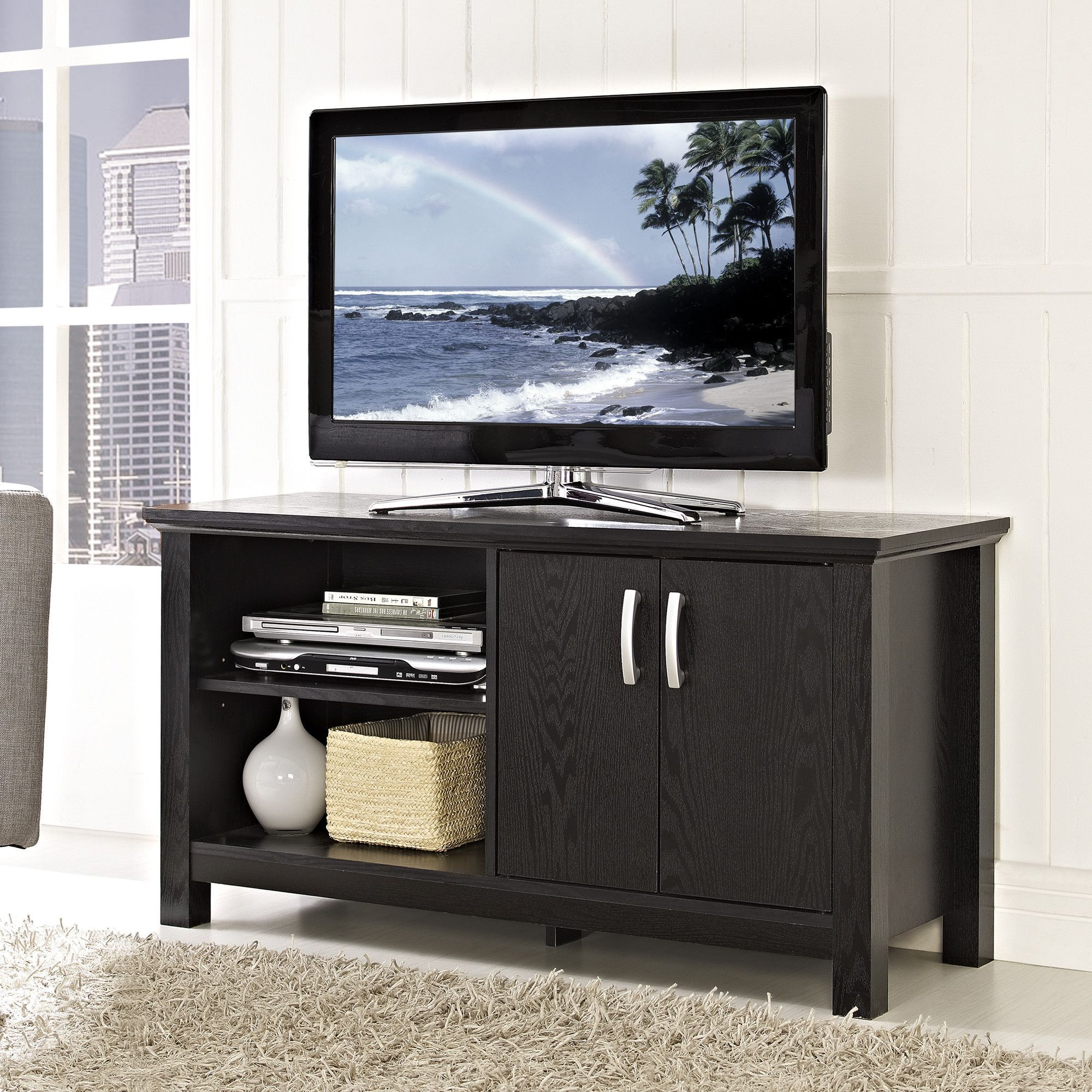 Television Tables Living Room Furniture Poitra 44 Tv Stand Tv Stands And Tvs