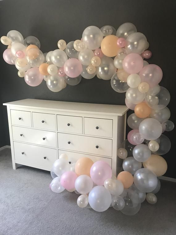 DIY Balloon Arch Kit 15 Ft, Bridal Shower, Baby Shower, Birthday Party Decoration, Balloon Decoration #balloonarch
