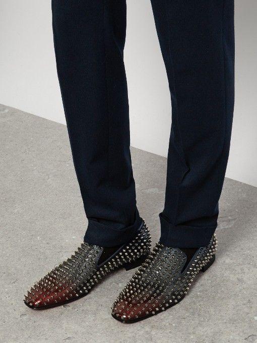 a479c18369d5 Christian Louboutin Dandelion spike-embellished loafers