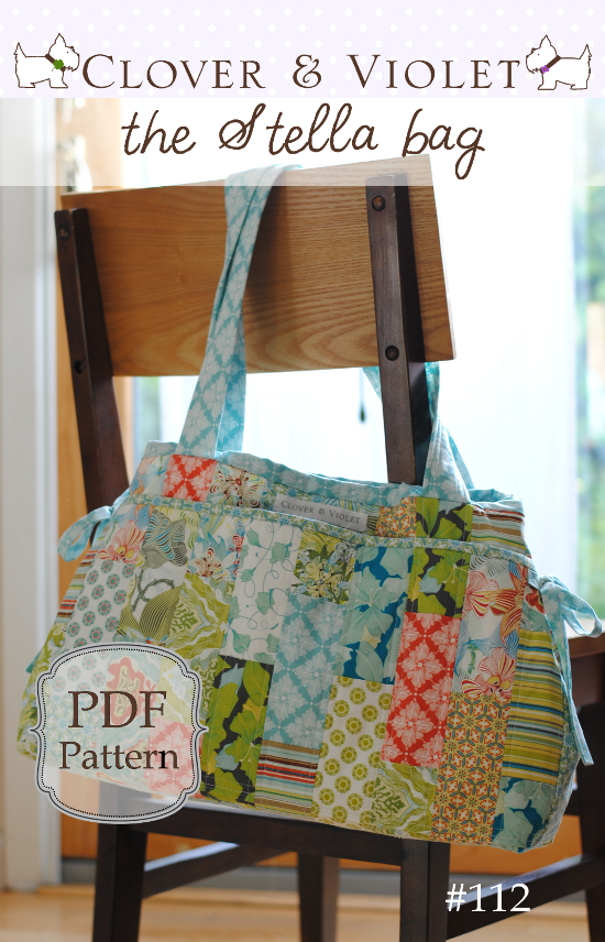 the Stella diaper bag {pdf sewing pattern}