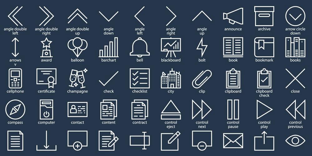 Free Website Icon Sets Free Icon Set Free Icons Website Icons