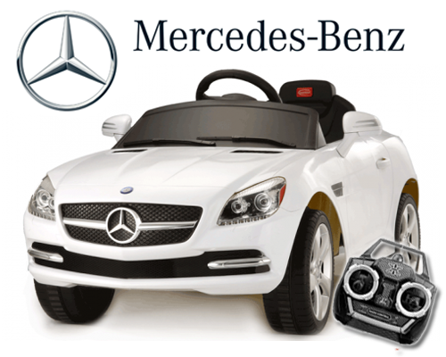licensed mercedes slk 350 ride on car with remote kids electric cars little cars for little people