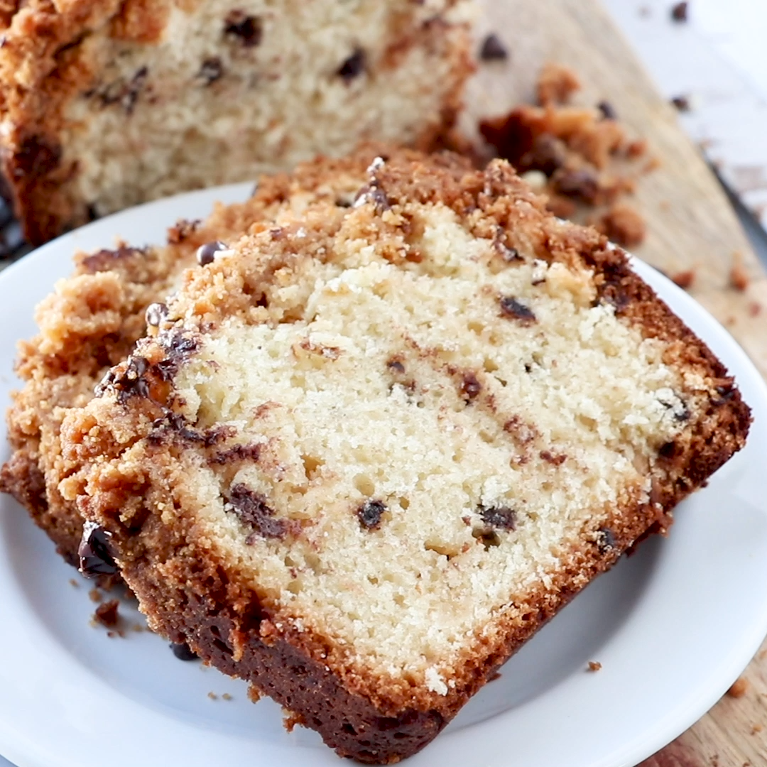 Chocolate Chip  Crumb Cake -   15 desserts Italian chocolate chips ideas