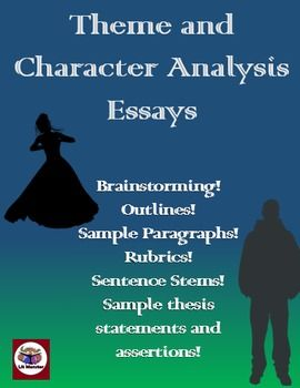 Theme And Character Analysis Essays  Outlines Brainstorming