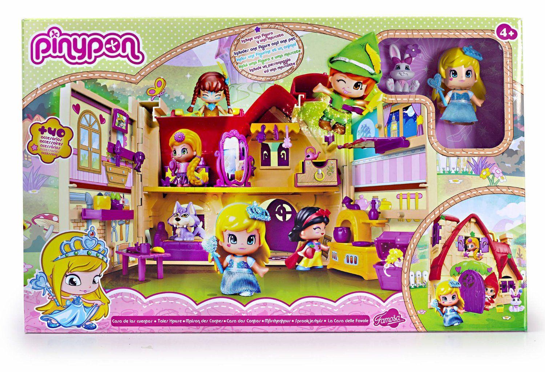Chollo La Casa De Los Cuentos De Pinypon Por 19 99 Euros Juguetes