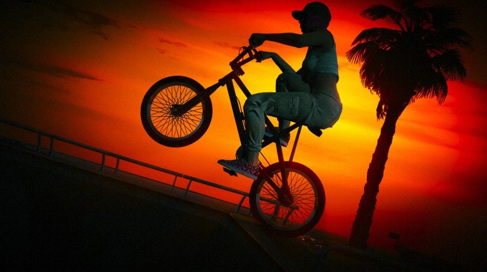 BMX Sunset   GTAV Snapmatic   Pinterest