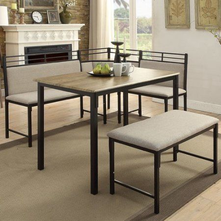 Awesome Free Shipping. Buy 4D Concepts Boltzero Corner 3 Piece Dining Set At  Walmart.com