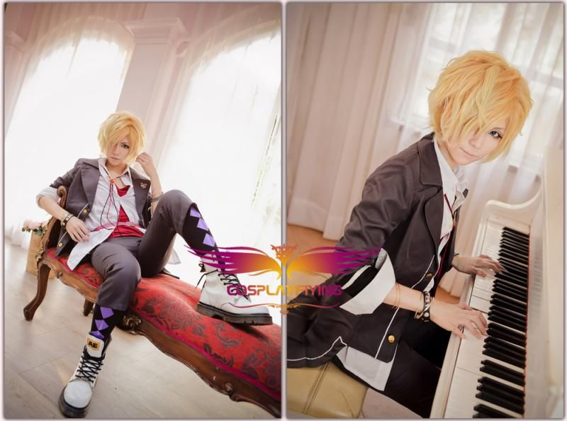 Diabolik Lovers Mukami Ruki Uniform Cosplay Costume Custom Made Size