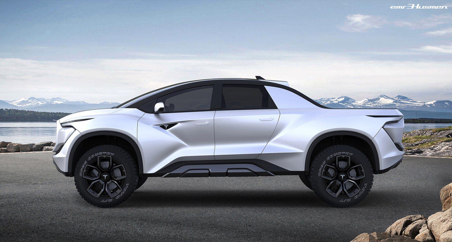 """We'd Love To See Tesla's """"Blade Runner"""" Pickup Look Like"""