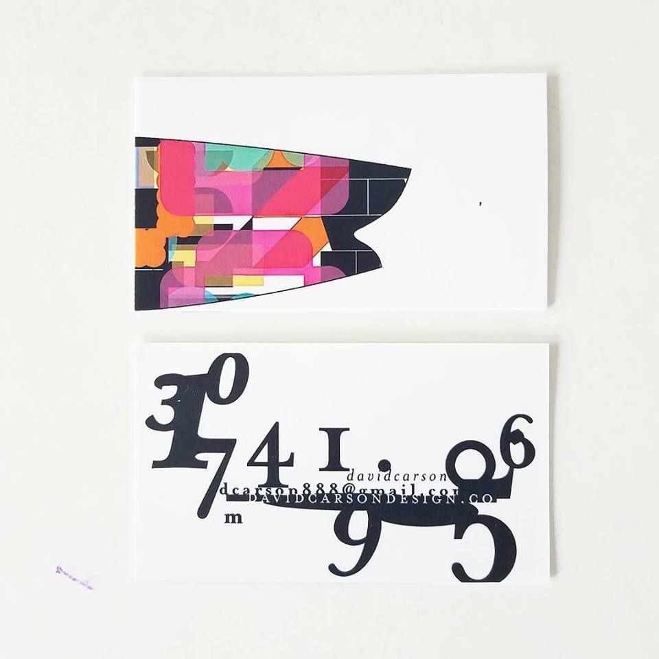 Nu business card | design +typography | Pinterest | Business cards ...