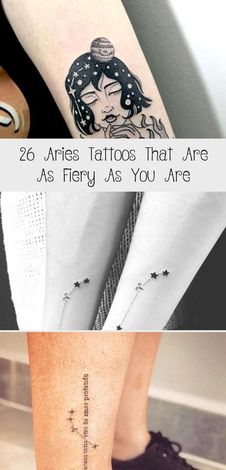 33++ Stunning Aries star sign tattoo designs ideas in 2021
