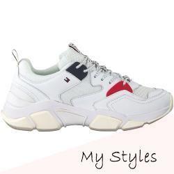 Tommy Hilfiger Sneaker Chunky Weiaÿ Damen Tommy Hilfiger Mode Kleding In 2020 With Images Tommy Hilfiger Sneakers Tommy Hilfiger Shoes Tommy Hilfiger
