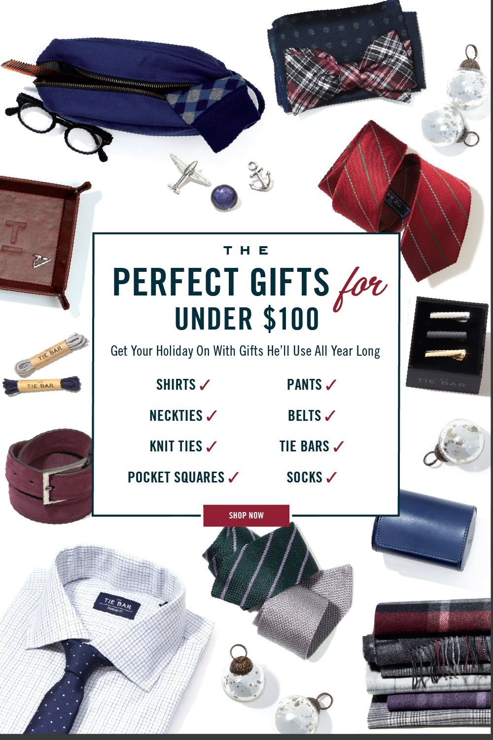 e6a0ded8b Find the perfect gifts for any guy in your life with shirts, ties, pants,  and accessories from The Tie Bar. #gifting #gifts #menswear #mensfashion #  ...