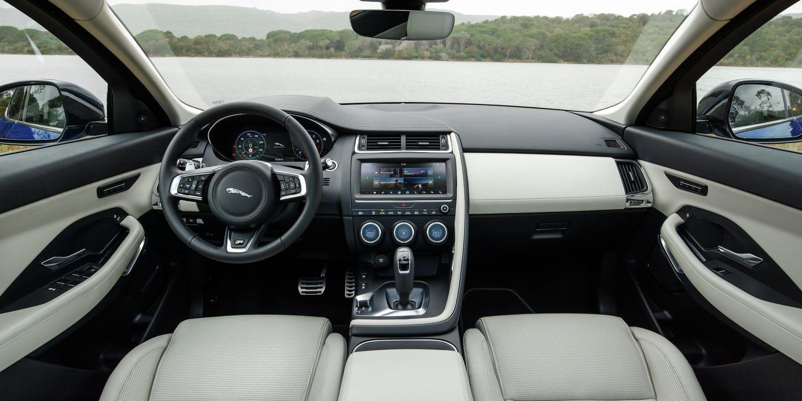 Kết quả hình ảnh cho Jaguar E-Pace indoor