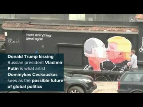Donald Trump is Kissing Another Man - YouTube