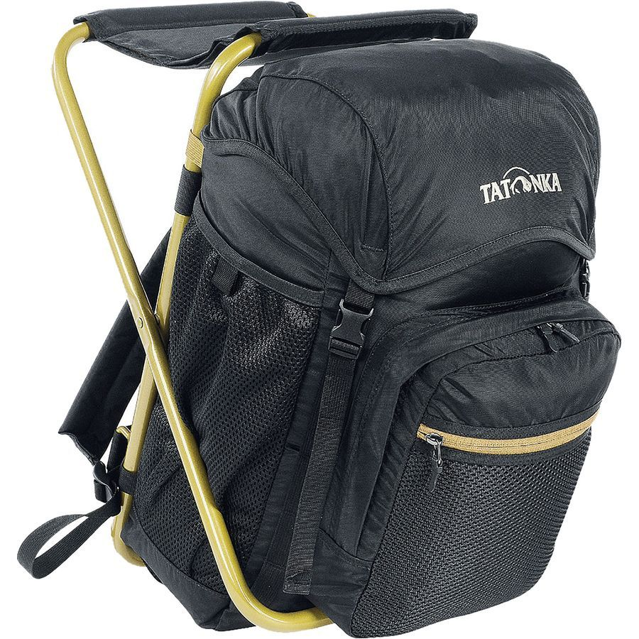 Tatonka Fischerstuhl Backpack 1220cu in Black/Bronze
