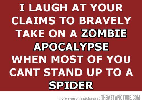 Novelty T Shirt Hardest Part About A Zombie Apocolypse Slogan Joke