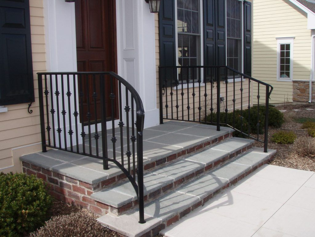 Image Result For Asymmetrical Handrails Exterior Curved Railings