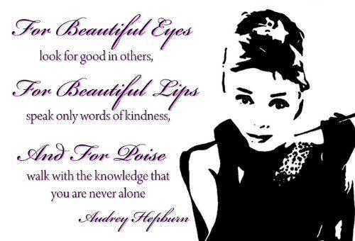 Amazonde Art Fever Leinwand Druck Audrey Hepburn Zitate Pink