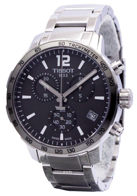 c49d066c3 Tissot T-Sport Quickster Chronograph T095.417.11.067.00 T0954171106700 Mens  Watch