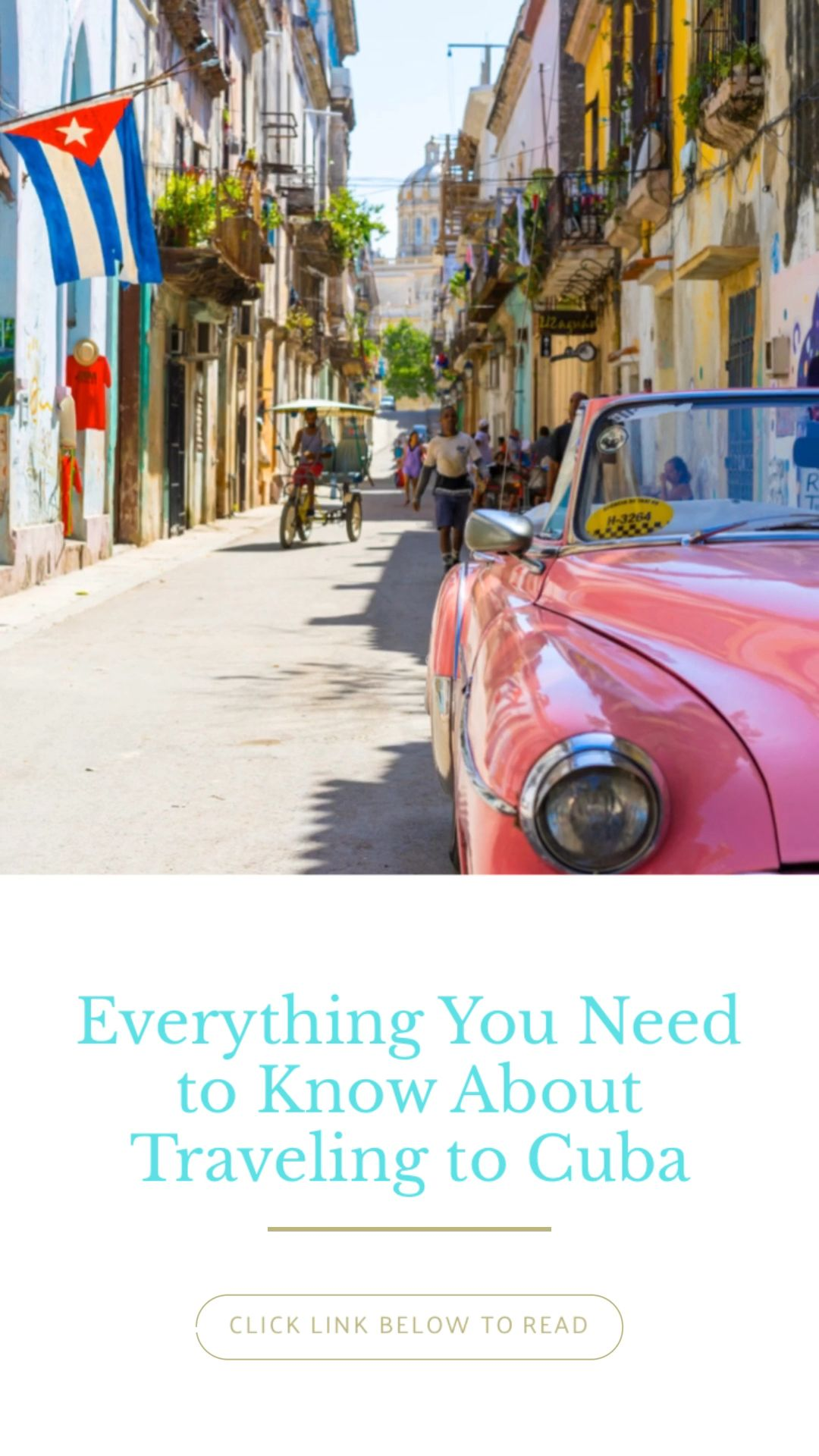Everything you need to know about travelling to Cuba #cuba #travelguide #cubatravel #travelcuba #cubatravelguide #traveldestinations #traveltips