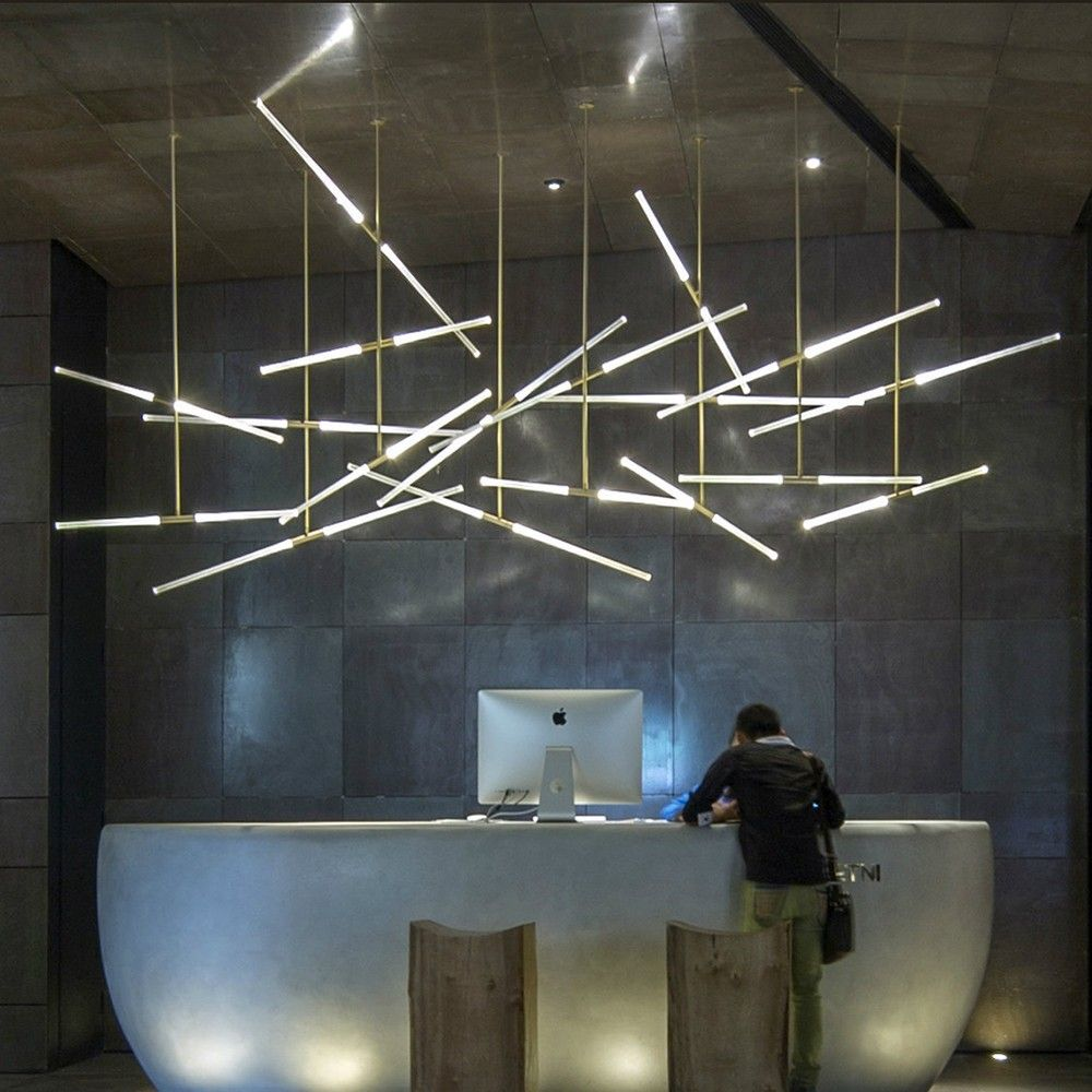 Cnc Pendant Light Buscar Con Google Modern Led Lighting Modern Office Lighting Led Tube Light