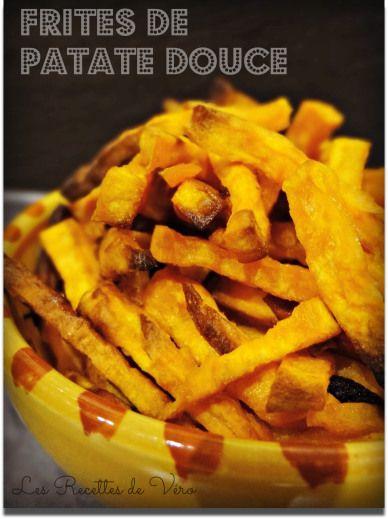 frites de patate douce au four recettes cuisiner. Black Bedroom Furniture Sets. Home Design Ideas