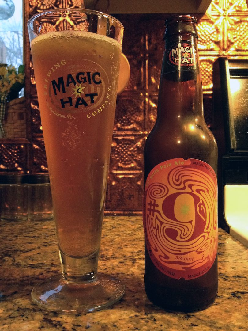 9 By Magic Hat Brewing Company Burlington Vt Magic Hat Dads Favorite Beer