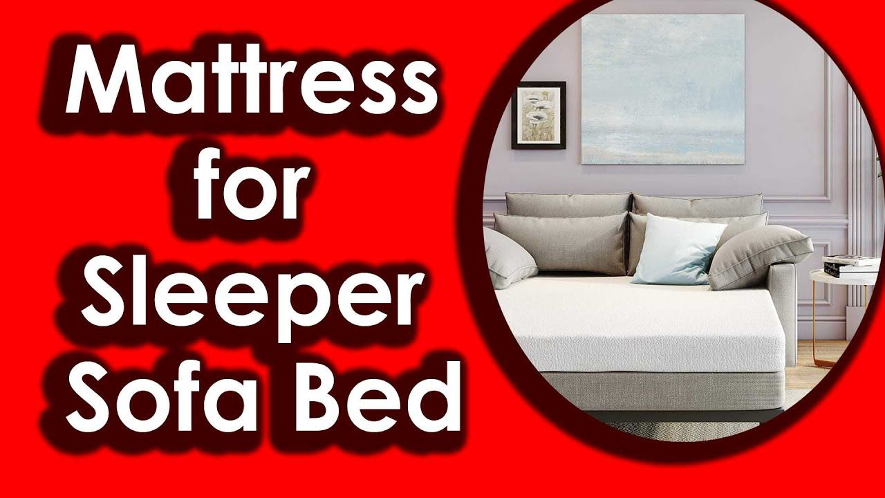 - Classic Brands Memory Foam Replacement Mattress For Sleeper Sofa