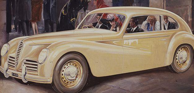 Publicidade Automóvel ao Longo do Tempo | Alfa Romeo PT www.alfaromeo.pt627 × 300Pesquisar por imagens A Segunda Guerra Mundial finalmente termina e dos cartazes desaparecem aviões militares, soldados na frente e automóveis com pintura de camuflagem.