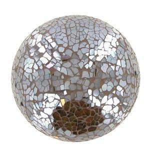 4 Champagne Glass Mosaic Deco Ball Shop Hobby Lobby Mosaic Glass Decorative Spheres Mosaic