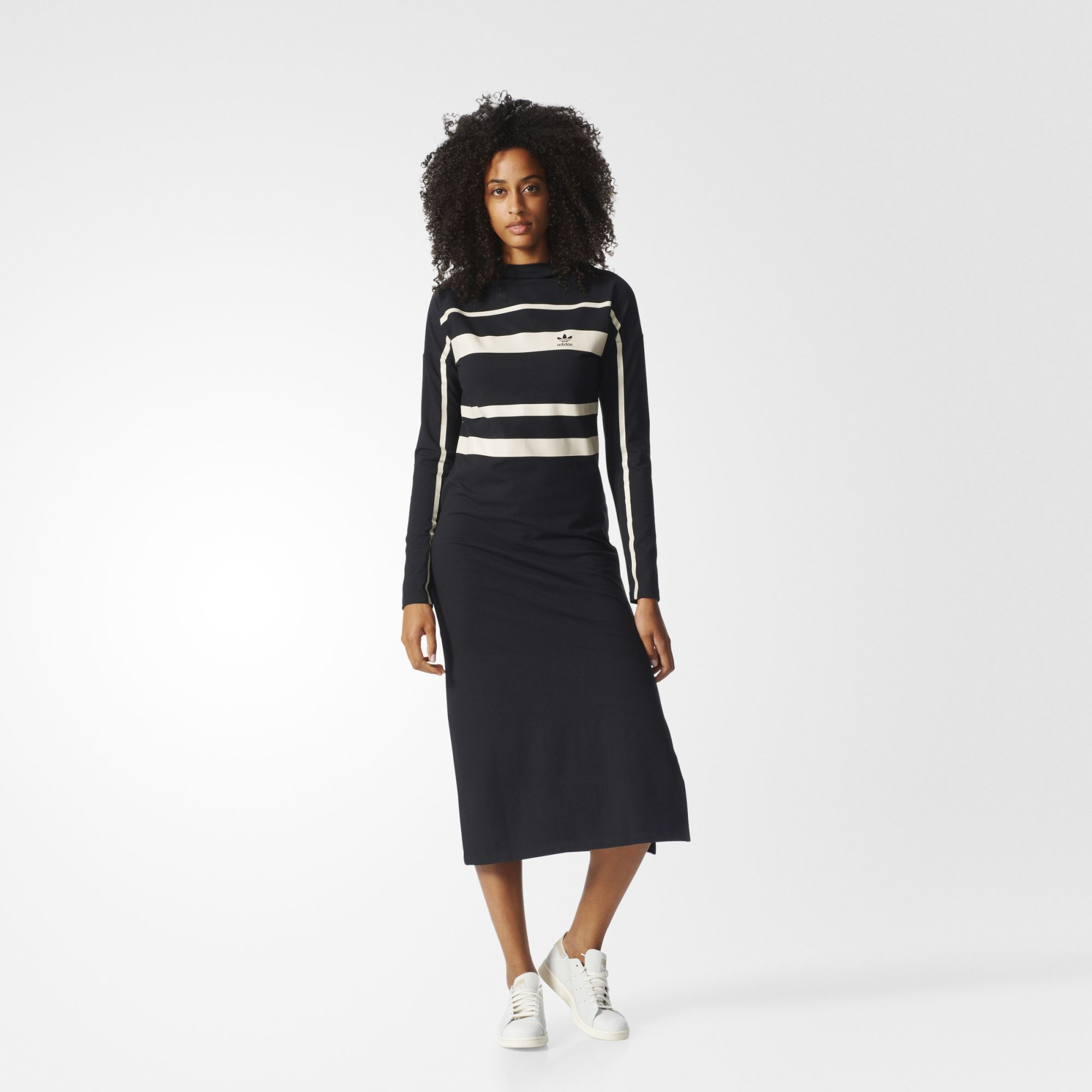 adidas - Women's Long Dress | Lange jurken, Mode, Sport mode
