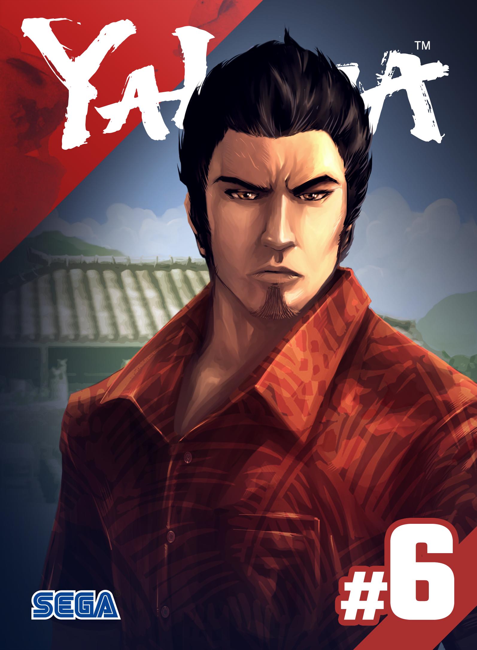 Yakuza The Dragon S Path Comic Series Comics Dragon Yakuza 6
