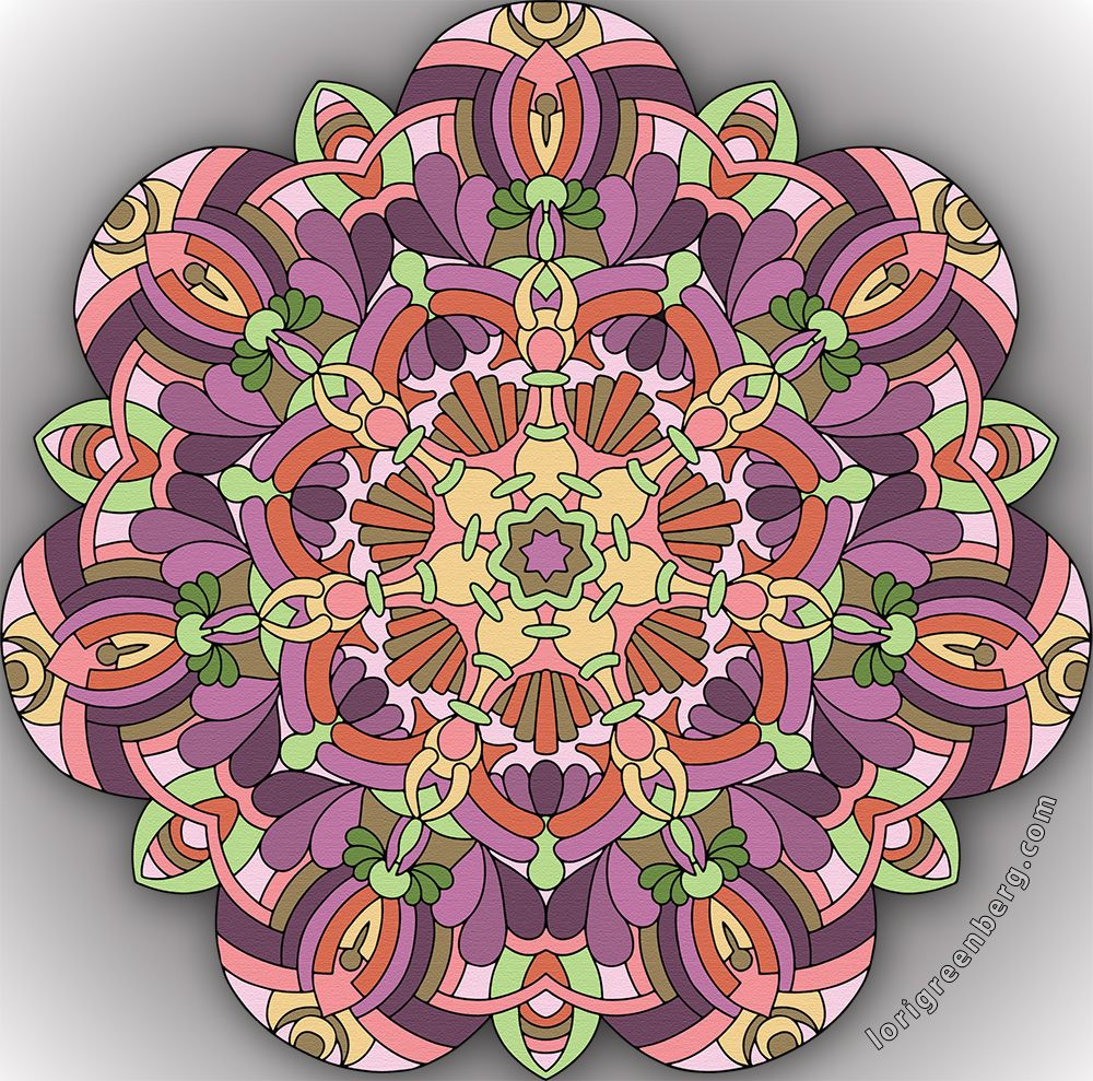 2016-11-18 From Fanciful Mandalas, Volume 4
