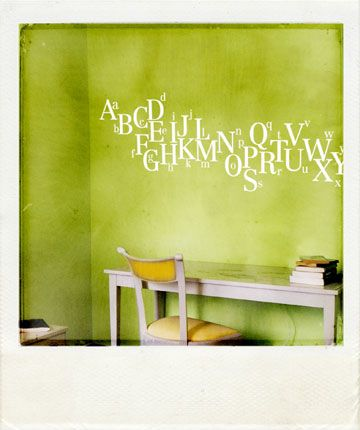 1) LOVE the wall. 2) LOVE the jumbled letters... | Homey | Pinterest ...