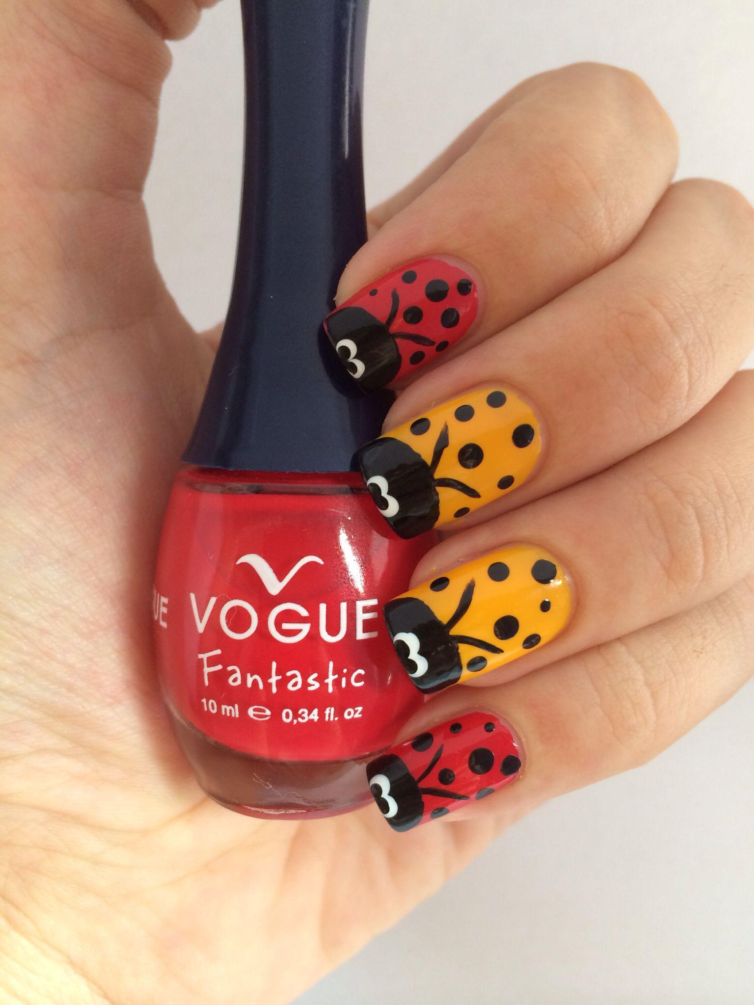 Hermoso color rojo de vogue: ole y ole | uñas vogue | Pinterest