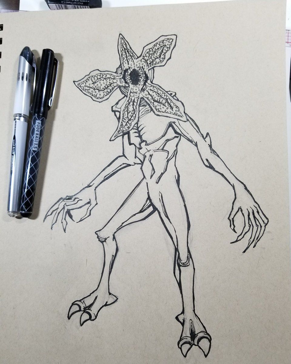 Image Result For Demogorgon Drawing