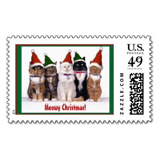 """>>>This Deals          """"Meowy Christmas!"""" Cats Stamp           """"Meowy Christmas!"""" Cats Stamp in each seller & make purchase online for cheap. Choose the best price and best promotion as you thing Secure Checkout you can trust Buy bestReview          """"Meowy Christmas...Cleck Hot Deals >>> http://www.zazzle.com/meowy_christmas_cats_stamp-172819041758748116?rf=238627982471231924&zbar=1&tc=terrest"""