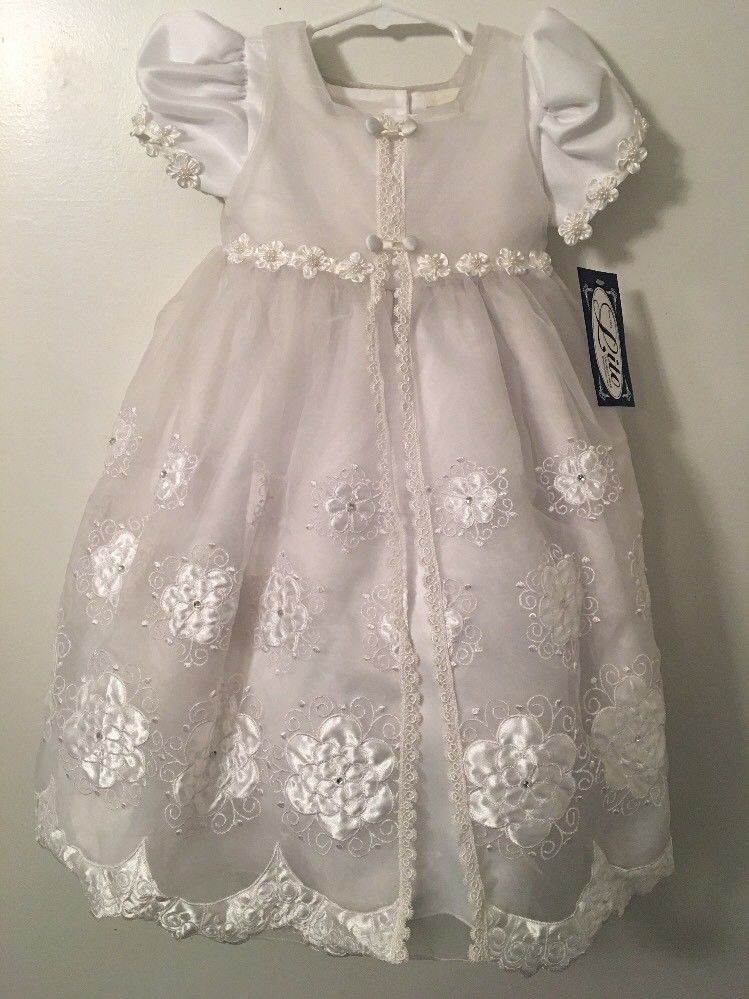 d792c428343 Toddler Girl s Dress - Special Occasion Dress Baptism Wedding - Size 2T NWT   fashion  clothing  shoes  accessories  babytoddlerclothing ...
