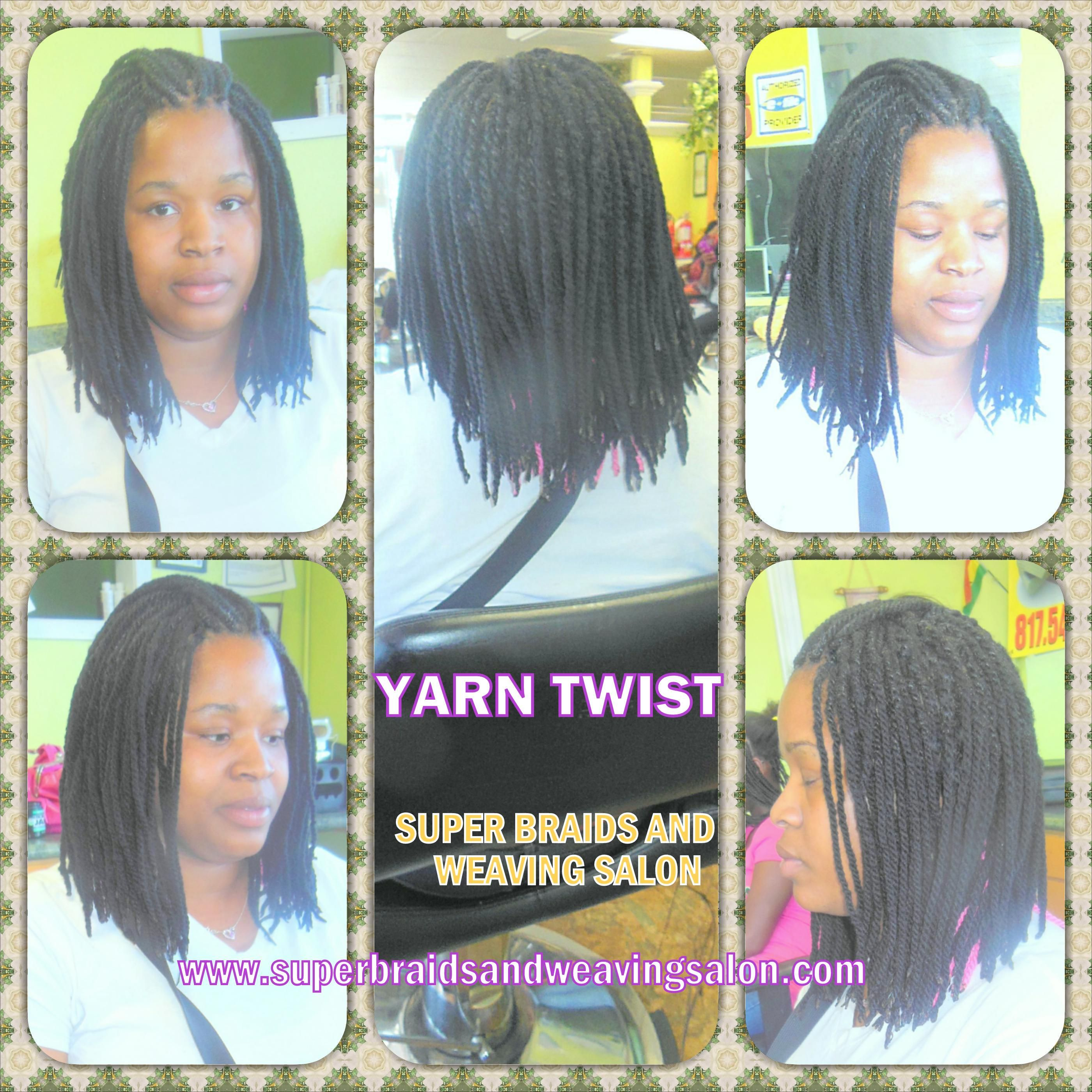 Super braids and weaving salon yarn braids or twist pinterest