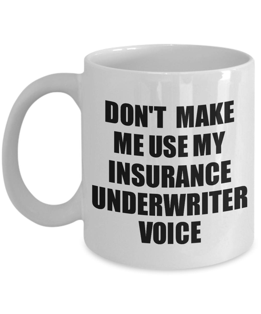 Insurance Underwriter Mug Coworker Gift Idea Funny Gag For Job