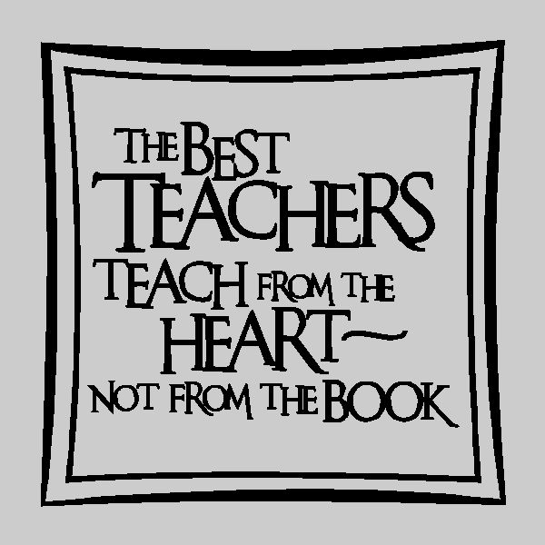 Best Teacher Quotes: The Best Teachers.....Teacher Wall Quotes Wall Words Wall